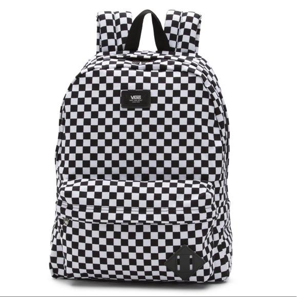 Vans old school checkered backpack. M 5c40fd0504e33de80f613ab1 17f38bb798